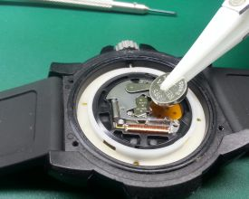 swiss army watch battery replacement